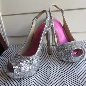 Enzo Angiolini sequence 7 slingback heels